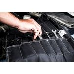 Thumbnail - Small Wrench Tool Organizer Roll Black - 6