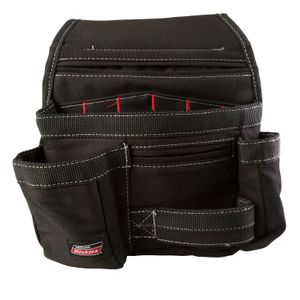 11-Pocket Tool Pouch, Black