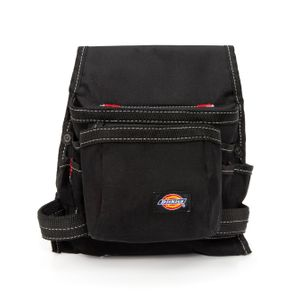 8 Pocket Tool and Utility Pouch Black