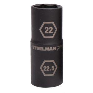 1 2 Inch Drive 22mm x 22 5mm Thin Wall Impact Flip Socket