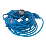 Thumbnail - 6 Outlet 50 Foot 14 3 Extension Cord with Inline 15 Amp 125V AC Circuit Breaker - 01