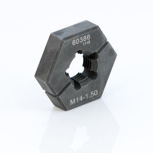 M14 1 50 Metric Split Die Thread Chaser
