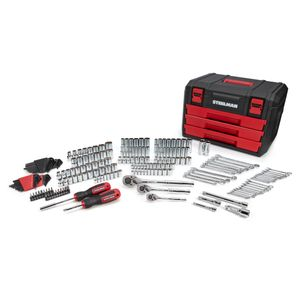 215-Piece Mechanics Tool Set and Storage Chest