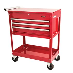 4-Drawer Industrial Tool Cart