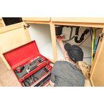 Thumbnail - 109 Piece Universal Homeowner Tool Set with Metal Storage Box - 81