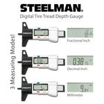 Thumbnail - 3 Mode Digital Tire Tread Depth Gauge 0 1 Inch - 41