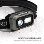 Thumbnail - 300 Lumen Motion Activated 3xAAA Battery Powered LED Headlamp 60740 - 61