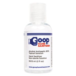 80% Ethanol Liquid Hand Sanitizer 2 oz.
