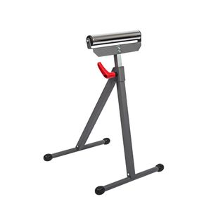 Single Roller Material Support Stand
