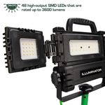 Thumbnail - 360 Degree 3 600 Lumen Tripod LED Work Light - 3