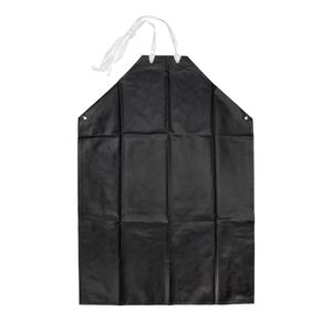 Black Chemical Resistant Apron
