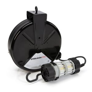 LED Work Light Bump-Lite with 30-Foot Cord Reel