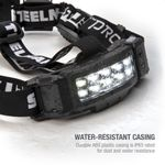 Thumbnail - Slim Profile LED 250 Lumen Motion Activated Headlamp with Rear Red Blinker 3xAA battery powered - 71