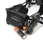 Thumbnail - Slim Profile LED 250 Lumen Motion Activated Headlamp with Rear Red Blinker 3xAA battery powered - 91