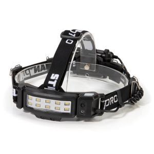 Slim Profile LED 250-Lumen Motion Activated Headlamp with Rear Red Blinker, 3xAA battery powered