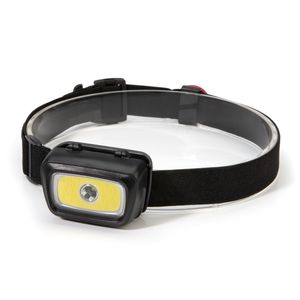 300 Lumen Multi-Mode Tri-Color LED Headlamp 3xAAA Battery Powered with Red Safety Light