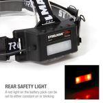 Thumbnail - 200 Lumen Motion Activated Slim Profile Multi Mode Rechargeable COB LED Headlamp - 61
