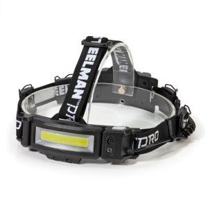 200 Lumen Motion Activated Slim Profile Multi-Mode Rechargeable COB LED Headlamp