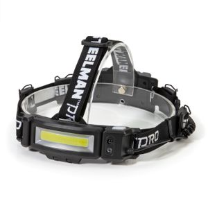 Slim Profile Multi-Mode Rechargeable COB LED Headlamp
