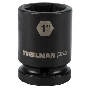 3 4 Inch Drive by 1 Inch 6 Point Shallow Impact Socket