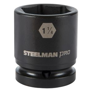 3 4 Inch Drive by 1 1 4 Inch 6 Point Shallow Impact Socket