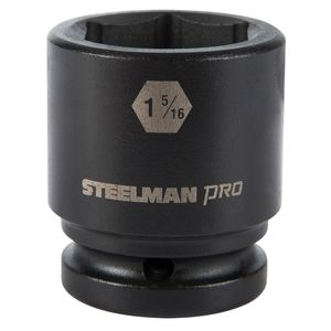 3 4 Inch Drive by 1 5 16 Inch 6 Point Shallow Impact Socket