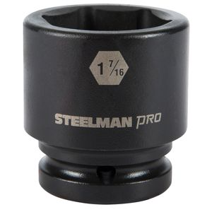 3 4 Inch Drive by 1 7 16 Inch 6 Point Shallow Impact Socket