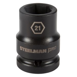 3 4 Inch Drive by 21mm 6 Point Shallow Impact Socket