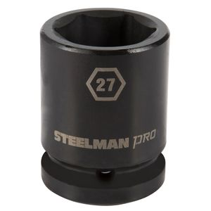 3 4 Inch Drive by 27mm 6 Point Shallow Impact Socket
