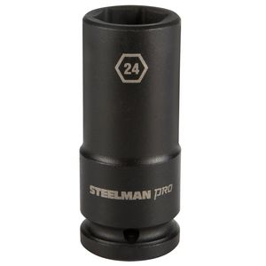 3 4 Inch Drive by 24mm 6 Point Deep Impact Socket