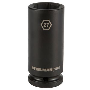 3 4 Inch Drive by 27mm 6 Point Deep Impact Socket