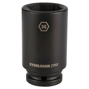 3 4 Inch Drive by 36mm 6 Point Deep Impact Socket