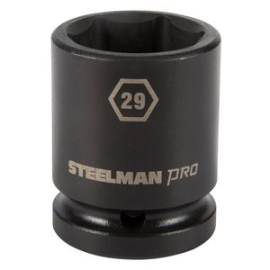 3 4 Inch Drive by 29mm 6 Point Shallow Impact Socket