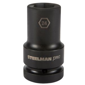 1 Inch Drive by 24mm 6 Point Deep Impact Socket
