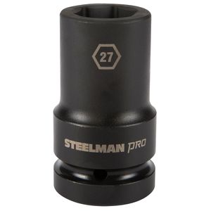 1 Inch Drive by 27mm 6 Point Deep Impact Socket