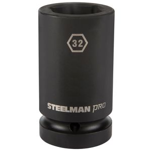 1 Inch Drive by 32mm 6 Point Deep Impact Socket