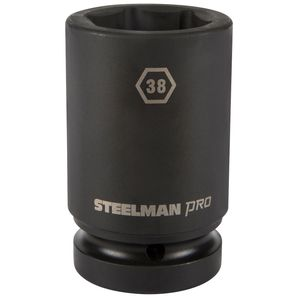 1 Inch Drive by 38mm 6 Point Deep Impact Socket