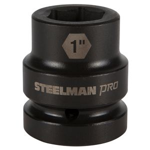 1 Inch Drive by 1 Inch 6 Point Shallow Impact Socket