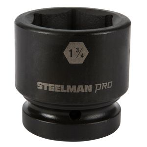 1 Inch Drive by 1 3 4 Inch 6 Point Shallow Impact Socket