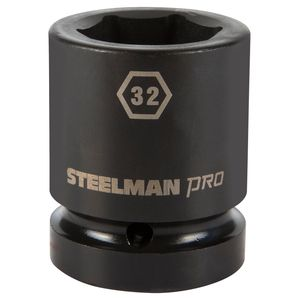 1 Inch Drive by 32mm 6 Point Shallow Impact Socket