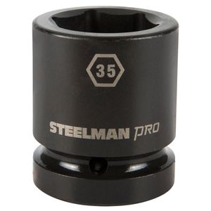 1 Inch Drive by 35mm 6 Point Shallow Impact Socket
