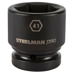 1 Inch Drive by 41mm 6 Point Shallow Impact Socket