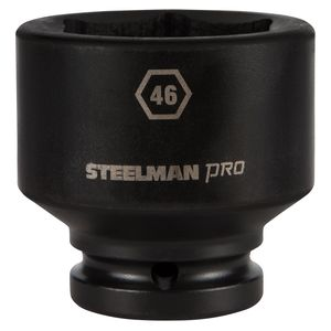 3 4 Inch Drive by 46mm 6 Point Shallow Impact Socket
