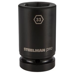 1 Inch Drive by 33mm 6 Point Deep Impact Socket
