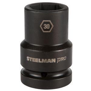 1 Inch Drive by 30mm 6 Point Thin Wall Deep Impact Socket