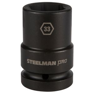 1 Inch Drive by 33mm 6 Point Thin Wall Deep Impact Socket