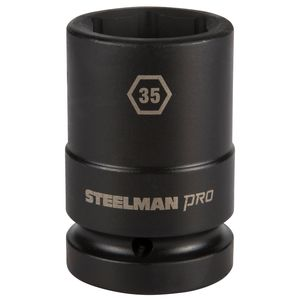 1 Inch Drive by 35mm 6 Point Thin Wall Deep Impact Socket