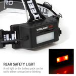 Thumbnail - Dual Mode Pivoting Rechargeable LED Headlamp - 61