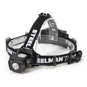 Dual Mode Pivoting Rechargeable LED Headlamp