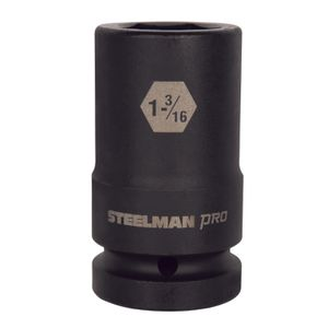 1 Inch Drive by 1 3 16 Inch 6 Point Deep Impact Socket
